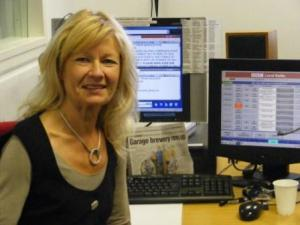 Lynda Cant on Radio Berkshire